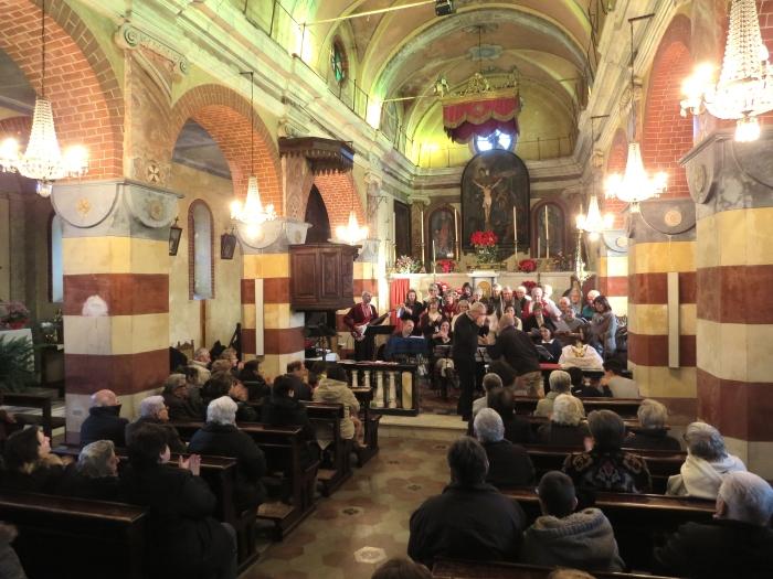 Concerto inaugurale a Tavernette