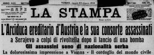 Testata-La-Stampa-29-giugno-1914