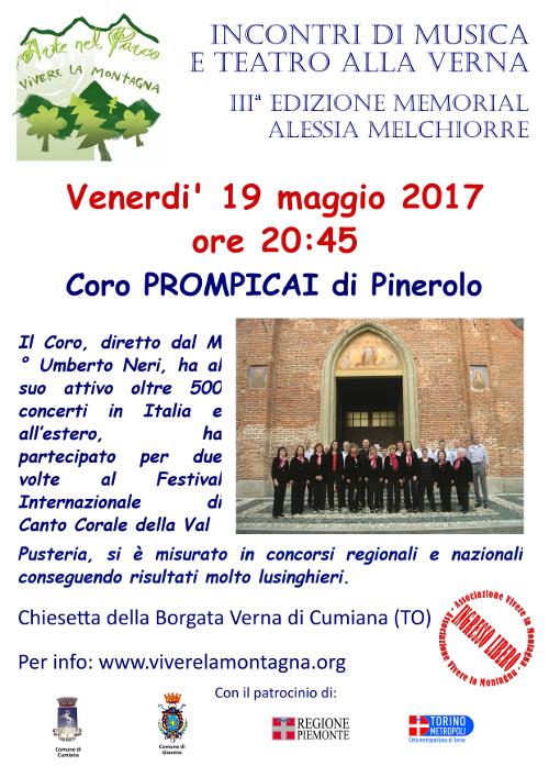 19 maggio - Coro Prompicai - ridweb